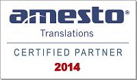 Amesto Certified Partner 2014